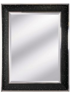 Luxury Designer Swarovski Crystal Black Crocodile Leather Mirror, sharing luxury designer home decor inspirations and ideas for beautiful living rooms, dinning rooms, bedrooms & bathrooms inc furniture, chandeliers, table lamps, mirrors, art, vases, trays, pillows, accessories & gift courtesy of InStyle Decor Beverly Hills enjoy & happy pinning
