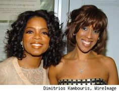 Oprah Winfrey & Gail King - They both have a La Bella Beads necklace