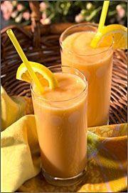 Gezonde Tropische Exotische Oranje Smoothie