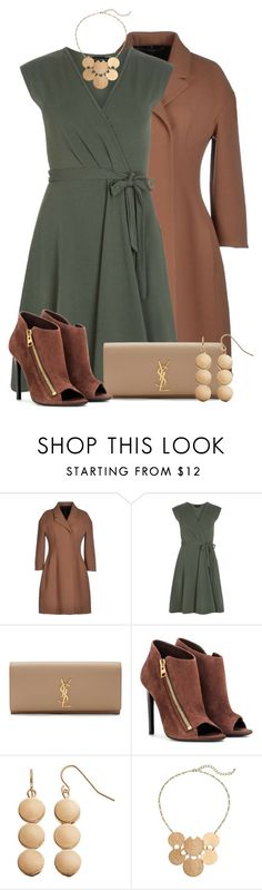 """""""Fall Date Night"""" by colierollers ❤ liked on Polyvore featuring Ermanno Scervino, Dorothy Perkins, Yves Saint Laurent, Tom Ford, SONOMA Goods for Life and Sonoma life + style"""