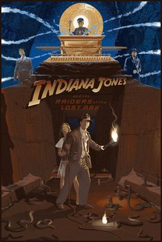 Indiana Jones and The Raiders Of The Lost Ark by Laurent Durieux