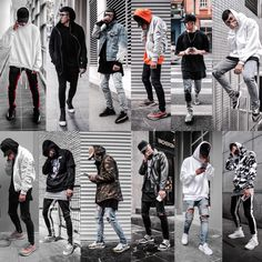 Source: vietnamese street style group ideas в 2019 г. Hip Hop Fashion, Fashion Mode, Urban Fashion, Mens Fashion, Street Fashion, Swag Outfits Men, Cool Outfits, Casual Outfits, Men Casual
