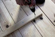 DIY stół z desek własnoręcznie zrobiony. - Home on the Hill - blog lifestylowy - wnętrza, inspiracje, kuchnia, DIY