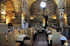 Sa Capella Restaurant hidden in a historic building #ibiza