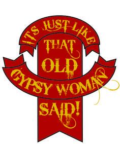 Old Gypsy woman