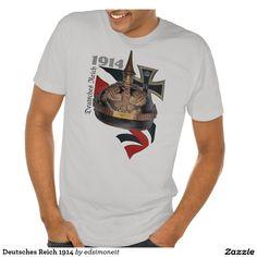 Deutsches Reich 1914 T-shirts