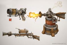 steam gunzz by *Sidxartxa