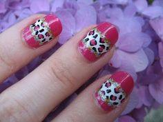 Glitter Leopard Stripe Nail Tutorial Nail Art Stripes, Striped Nails, Nail Art Videos, Fabulous Nails, Nail Tutorials, Nail Art Designs, Glitter, Facebook, Board