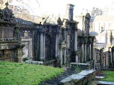 Greyfriars Kirkyard Edinburgh, Scotland