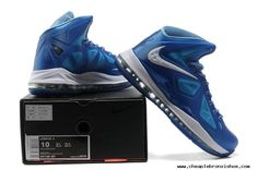 competitive price 2ddda ae3b8 2013 Lebron 10 Wind Chill Sapphire Lebron X Blue Diamond 541100 401  Basketball Shoes Lebron Shoes