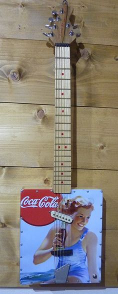Huge coke fan and would love this cigar box coca cola guitar