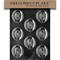 Dress My Cupcake Chocolate Candy Mold, Cowboy Hats - http://bestchocolateshop.com/dress-my-cupcake-chocolate-candy-mold-cowboy-hats/