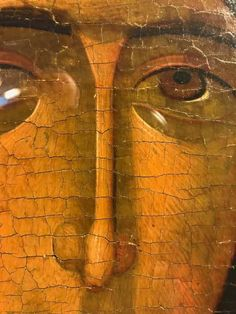 Face Icon, Byzantine Icons, Fresco, Style Icons, Renaissance, Past, Detail, Painting, Hail Mary