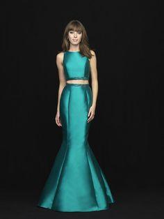 1917ab70619f7f Buy 2018 Jewel Zipper Bow Two-piece Black Taffeta Navy Green Mermaid Sweep  Sleeveless Prom. FXProm · Madison James Dresses