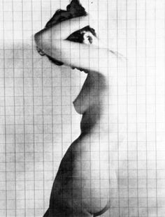 Untitled (Graphic Nude) by Erwin Blumenfeld
