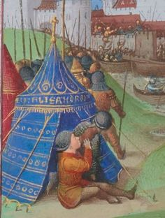 1° « Les Croniques que OROSIUS compila... »; 2° « Les anciennes Histoires des Romains » Date d'édition : 1401-1500 Français 64 Folio 135r