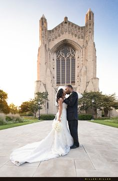 University of Chicago Rockefeller chapel wedding