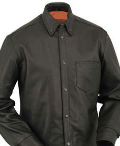 Men's Leather Concealment Shirt