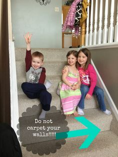 carpeted stair remodel, The Serene Swede on Remodelaholic Hardwood Stairs, Wooden Stairs, Wall Carpet, Carpet Stairs, Stairs Upgrade, Stairs Skirting, Staircase Makeover, Staircase Remodel, Kitchens And Bedrooms