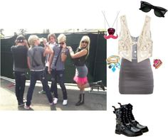 """If I Were In R5 173"" by jordybell ❤ liked on Polyvore"