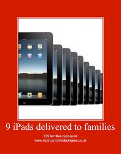 You want an iPad for your child, who has autism, or special needs, or none. You've registered with the Hearts and Minds charity to collec. Old Phone, Heart And Mind, Mobile Phones, Autism, Charity, Ipad, Hearts, Top, Collection
