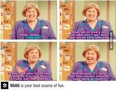 I love the Fat Fighters lady!!