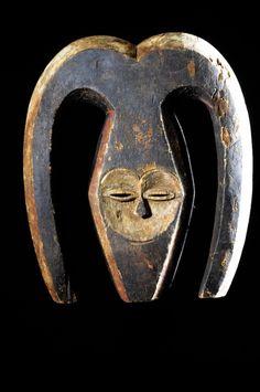 Ekuk Mask - Kwele / Bakwele - Gabon