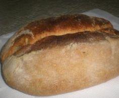 Pane misto con pasta madre
