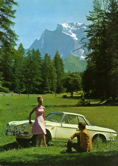 1962-1969 VOLKSWAGEN TYPE 3 KARMANN GHIA - styled by Carrozzeria Ghia of Turin. Built by Wilhelm Karmann GmbH of Osnabruck.
