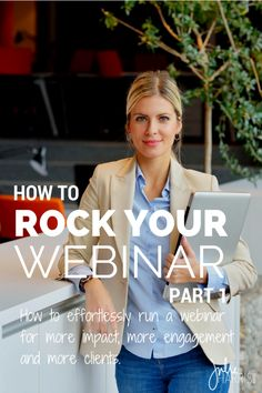 How To Rock Your Webinar Part 1: Picking your webinar platform. What options are our there for your webinar needs?