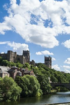 Durham Castle and Cathedral.