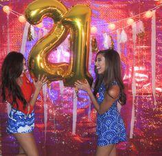 21st Birthday Ideas #21 #DIY #celebrate