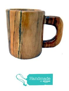 Lathe Turned Coffee Mug Spalted Sycamore from Kentucky Roots Wood https://www.amazon.com/dp/B073RNHP6T/ref=hnd_sw_r_pi_dp_lDNxzbY2BC42W #handmadeatamazon