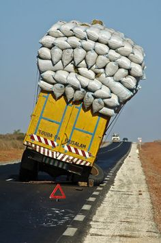 Overloaded vehicles - travel