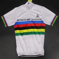 58035ba60 World Champion cycling Jersey Renault 1981 Bernard Hinault