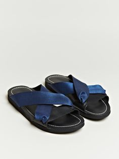 7184b5440 Dries Van Noten Men's Cross Strap Sandals Shoes Editorial, Mens Crosses,  For Your Eyes