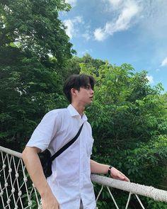 Bright Wallpaper, Boys Wallpaper, Imaginary Boyfriend, Boyfriend Photos, Idol, Bright Pictures, Boy Photography Poses, Korean Couple, Thai Drama