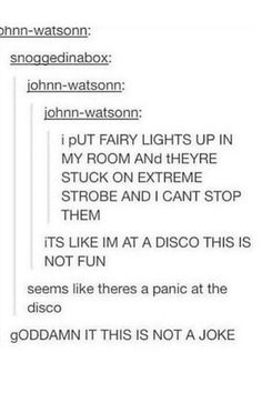 Panic at the disco is the best!!!!