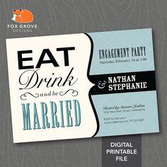 engagement party invitation etiquette
