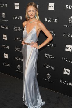 Candice Swanepoel Style by Vogue Spain (5/11) | 2014 Harper's Bazaar Icons Party in NYC.