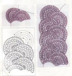 76 meilleures images du tableau Crochet   Crochet patterns, Crochet ... 4ada58cd441