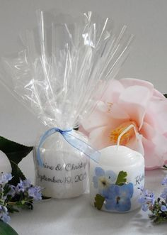 A1weddinginvitations: Wedding Candle Ideas for Centerpieces, Favors and ...