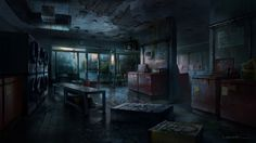 The Last of Us Concept Art - Games
