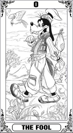 Except he should be the knight kr shield KH Tarot: The Fool by Autumn-Sacura.deviantart.com on @deviantART