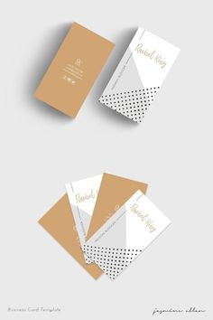 Gorgeous new tan and grey business card template for the girlboss! Business Cards Layout, Modern Business Cards, Business Card Logo, Business Card Design, Welcome Card, Name Card Design, Logo Design, Graphic Design, Printable Designs