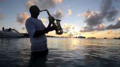 Sax at sunset