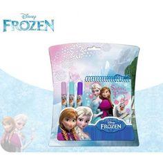 Libreta Frozen Dibujar C/Rotulador