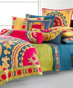 bohemian bedding collections | ... bed set. It's inspired by Central Asia's rich culture. The bed set