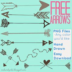 FREE Arrow Graphics (PNG) by Orchard Girls