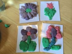 Inlcudes printable play dough patterns for toddlers and kids. Great Spring or summer activity!